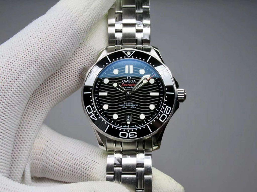 Replica Omega Seamaster 300m Diver Black
