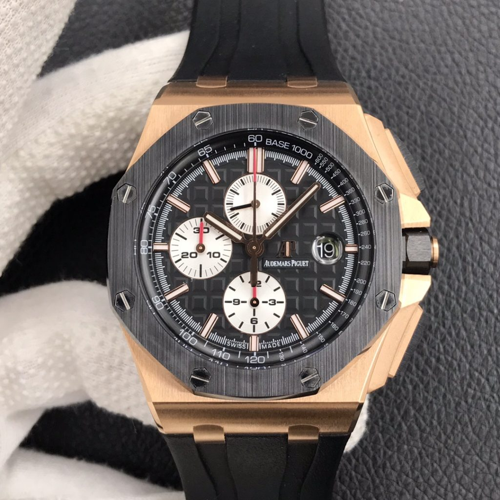 JF Replica Audemars Piguet Royal Oak Offshore Rose Gold