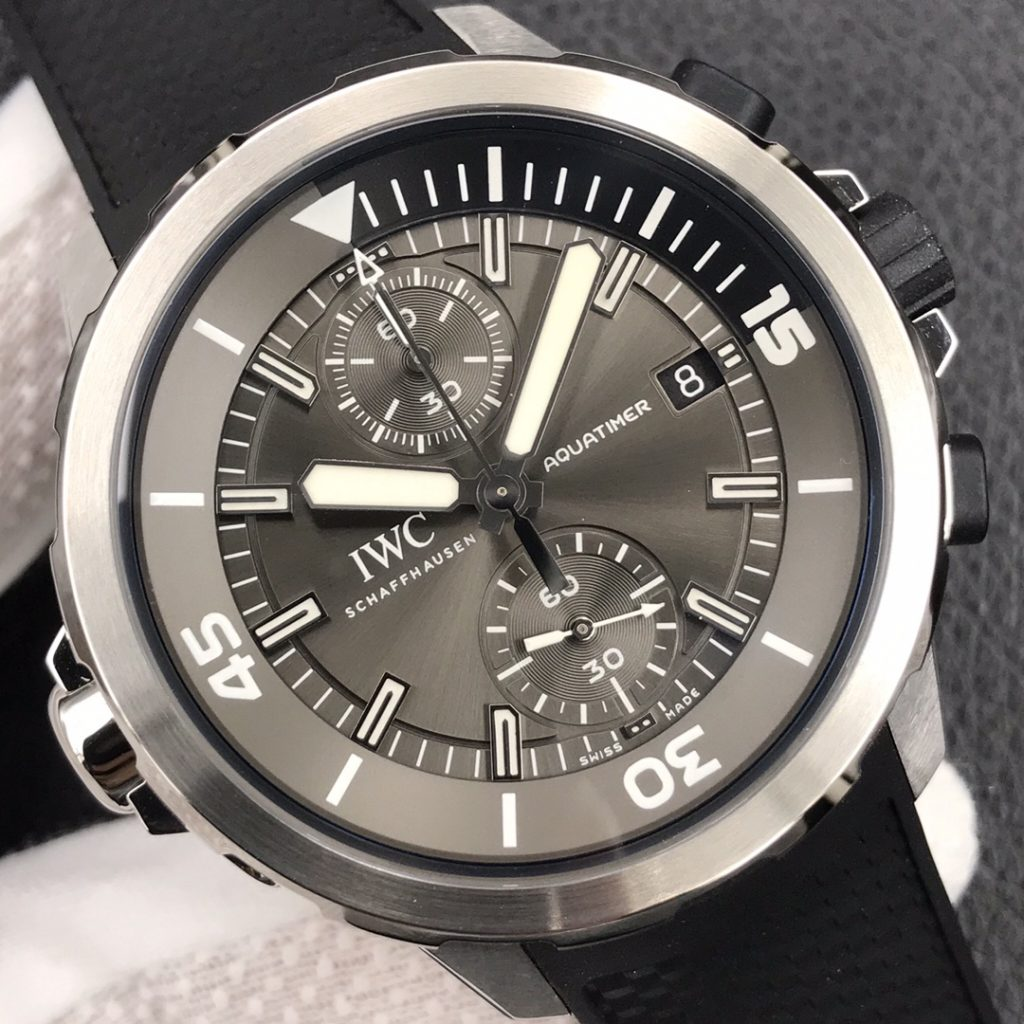 IWC Aquatimer Sharks Gray Dial