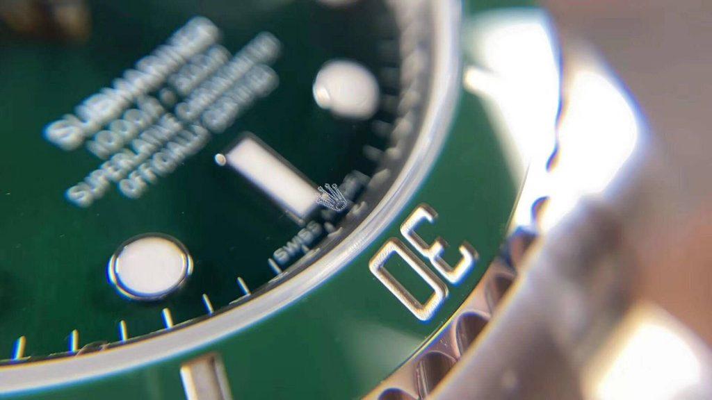 ZZF Rolex Submariner Laser Crown Logo