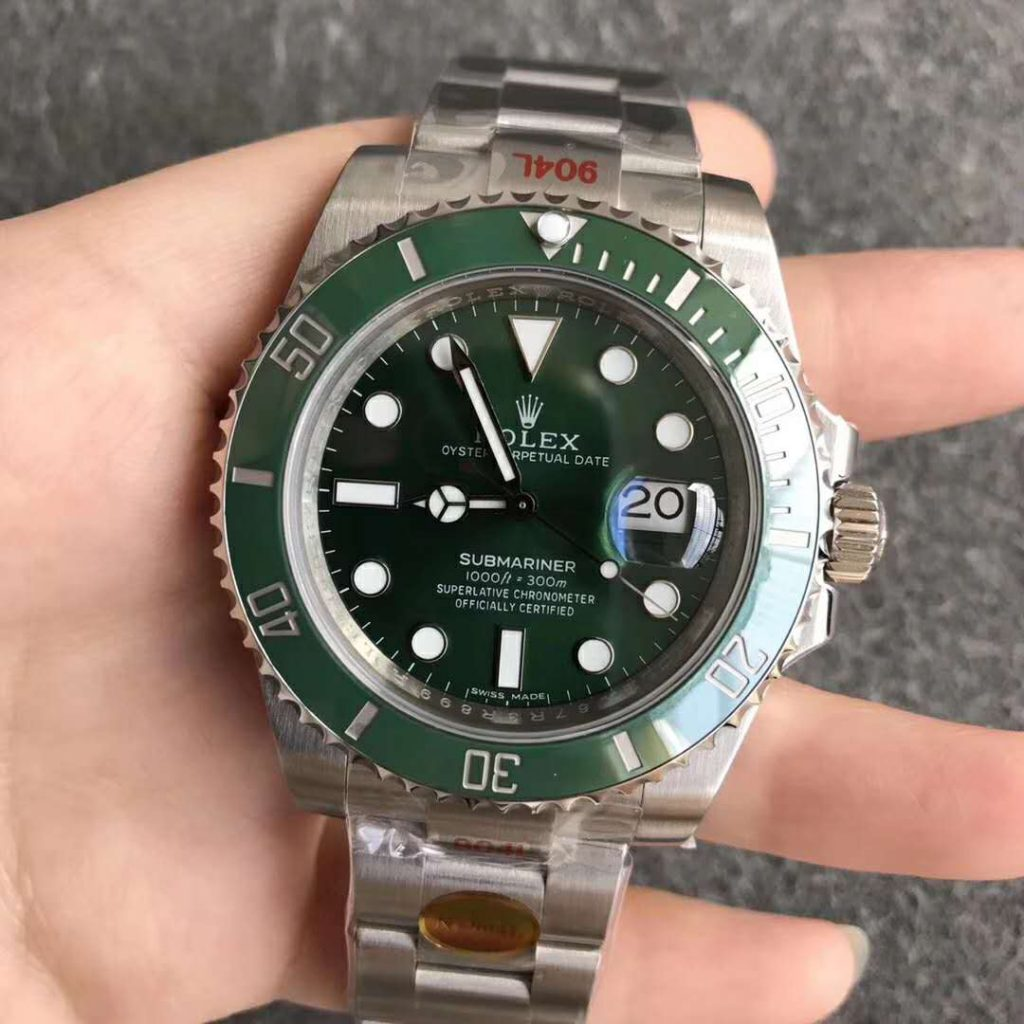 Submariner Green