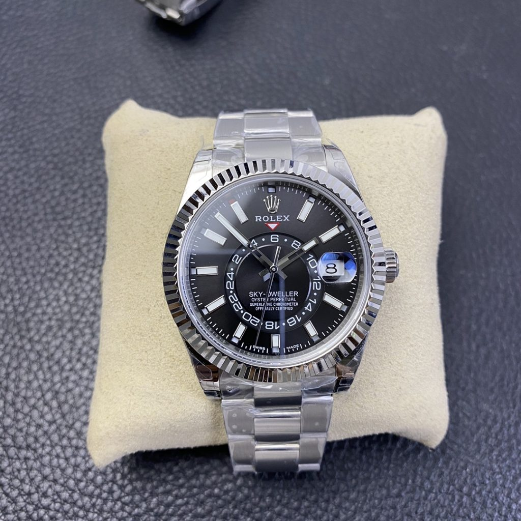 Replica Rolex Sky-Dweller Black