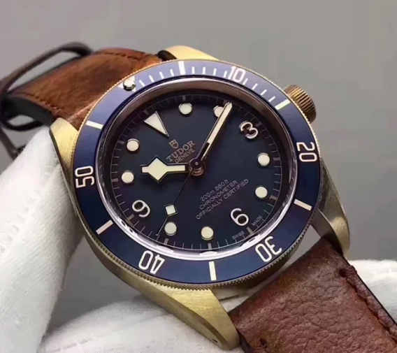 Replica Tudor Bronze Blue