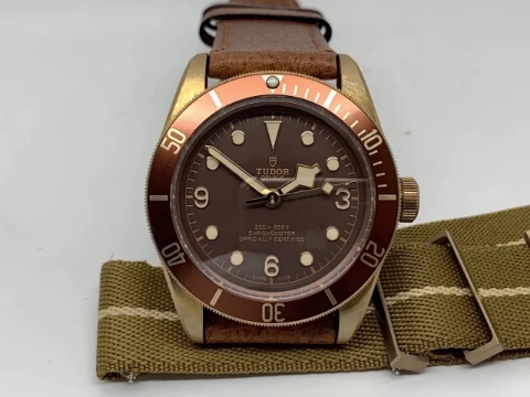 Replica Tudor Bronze with Nato Band