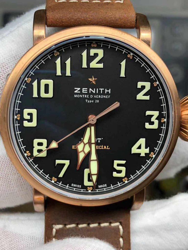 Replica Zenith Black Dial