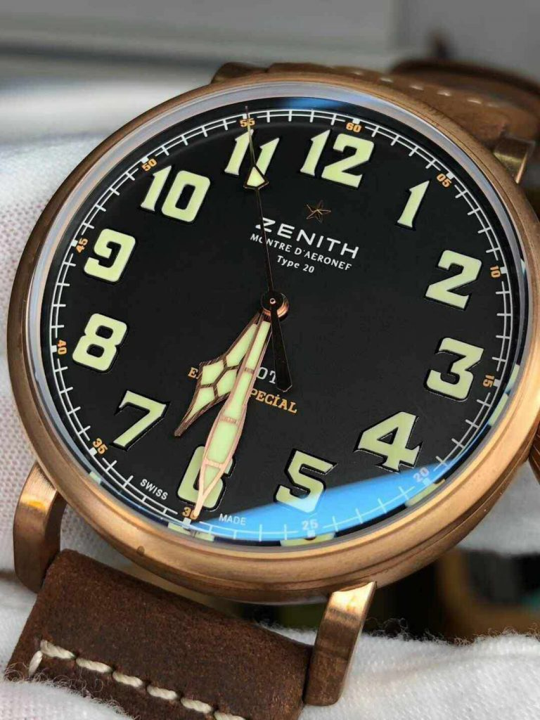 Replica Zenith Extra Special Bronze Watch
