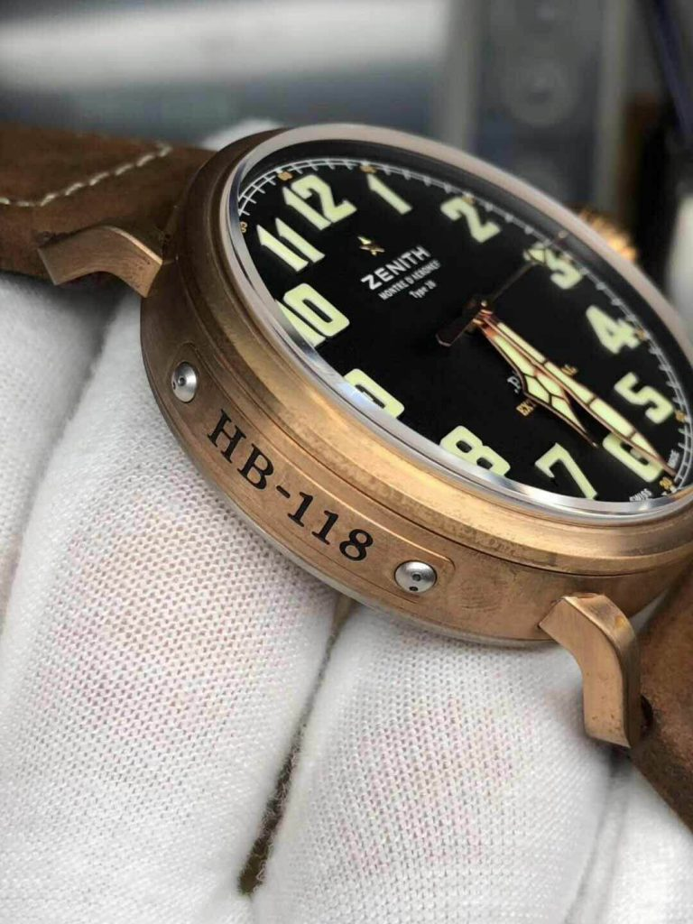 Replica Zenith Pilot Bronze Case