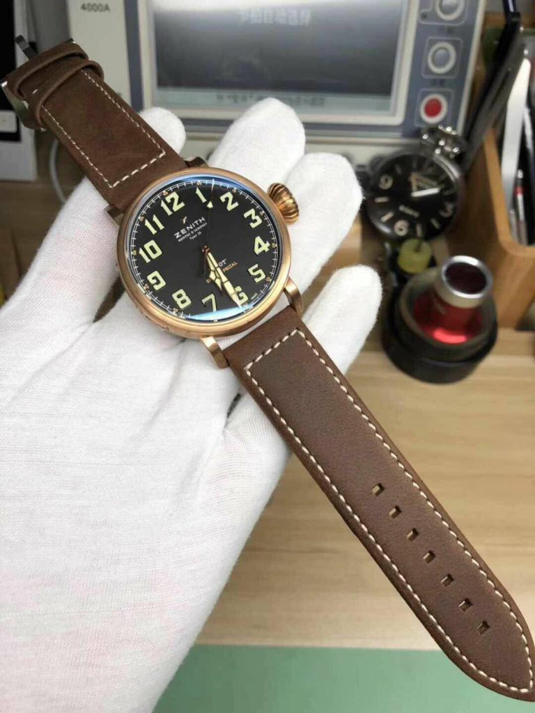 Replica Zenith Pilot Type 20 Bronze