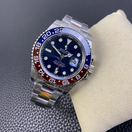 Replica Rolex GMT-Master Blue Dial