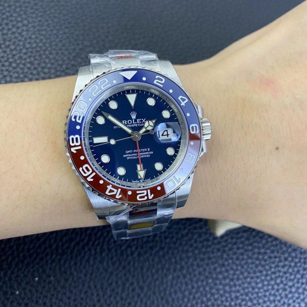 Rolex GMT-Master 126719 Wrist Shot