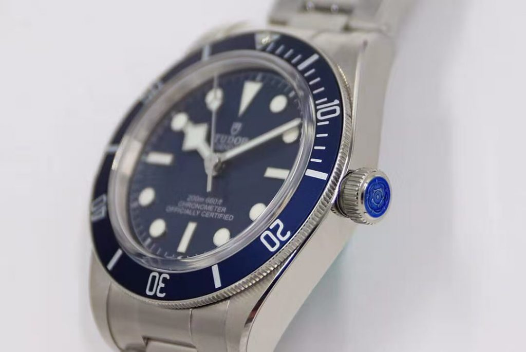 Tudor Blue Crown