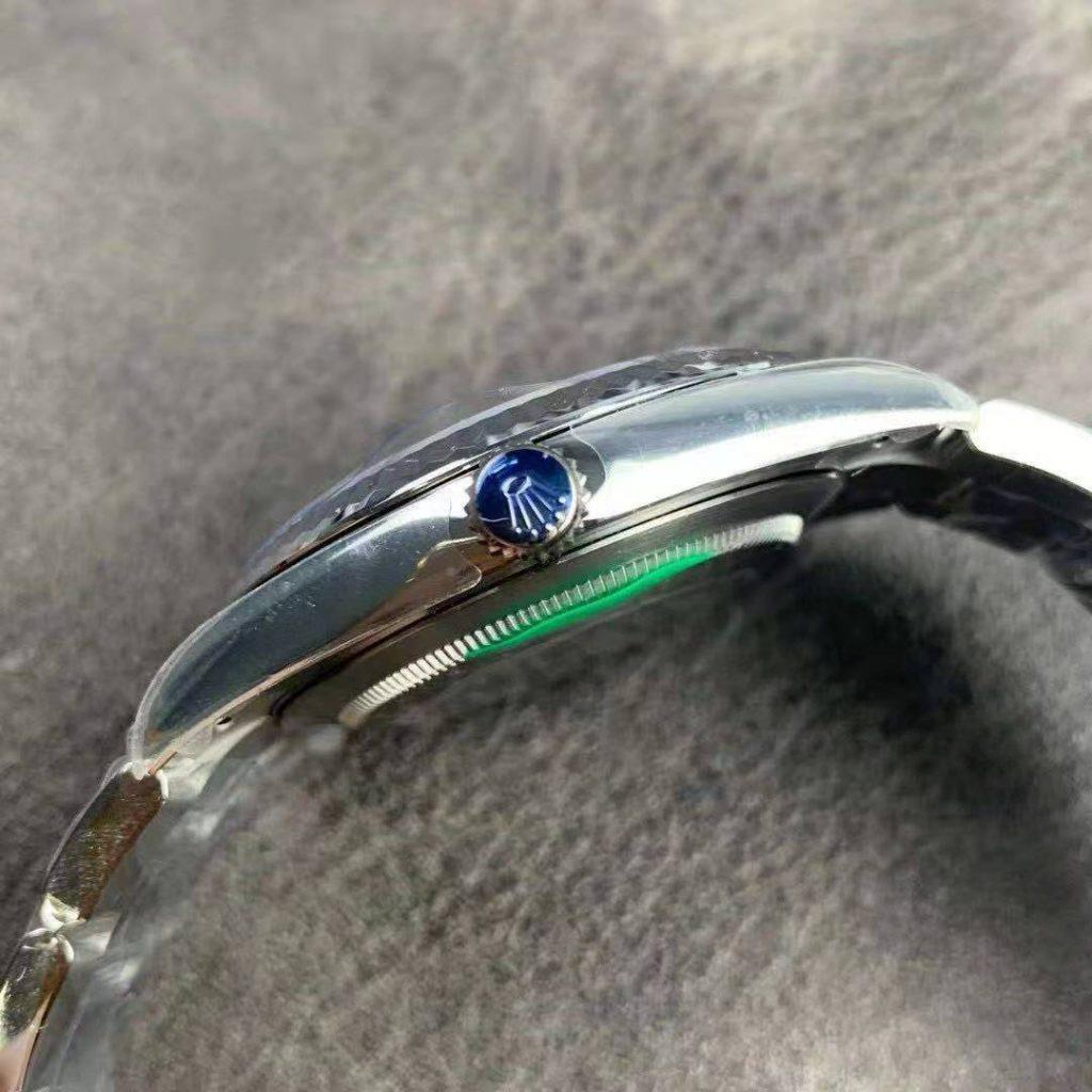 Rolex Datejust Silver Crown