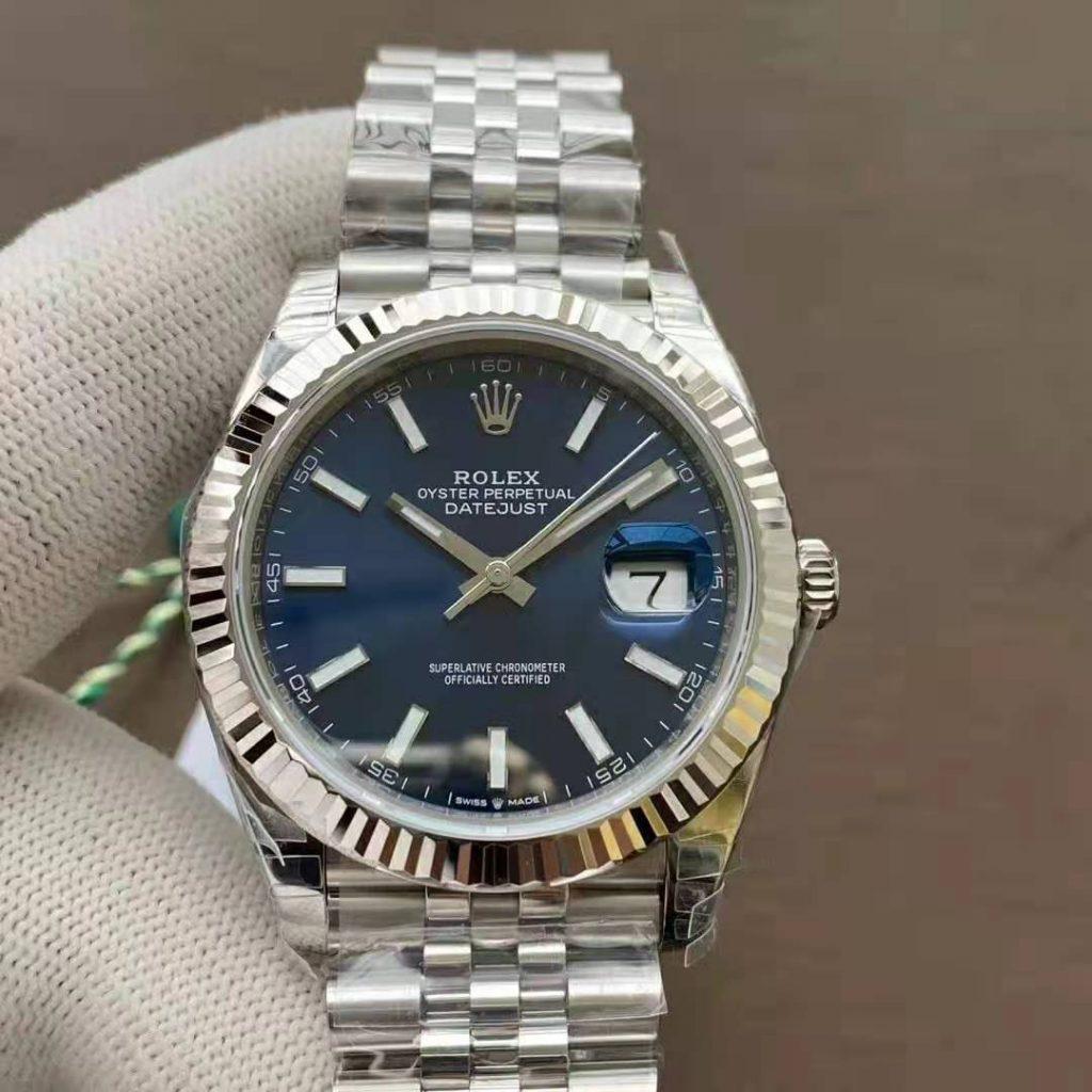 VSF Datejust Blue Jubilee Bracelet
