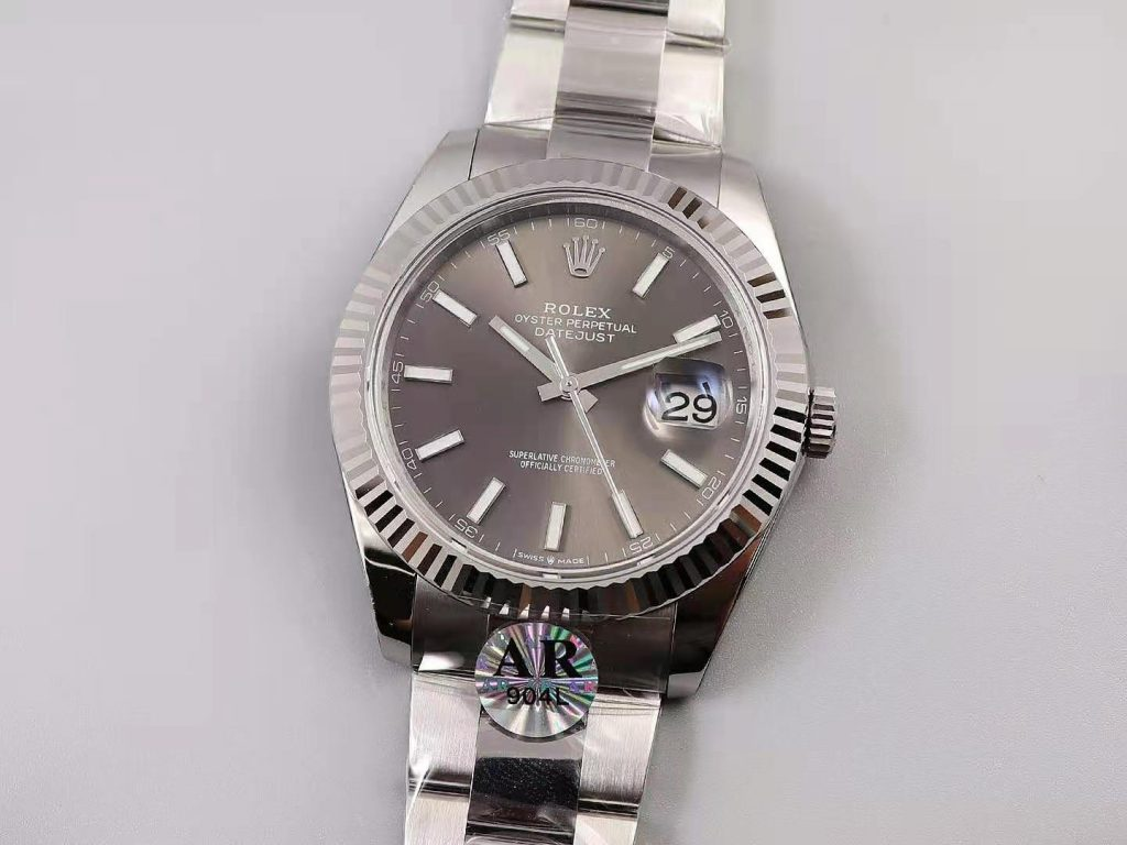 Replica Rolex Datejust 41mm Silver Gray