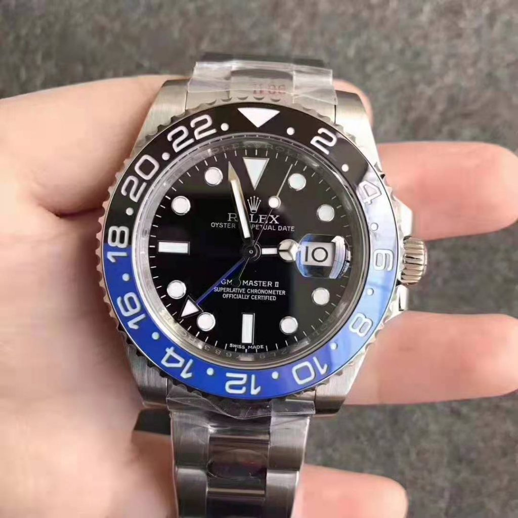 Replica Rolex GMT-Master Blue Black Ceramic