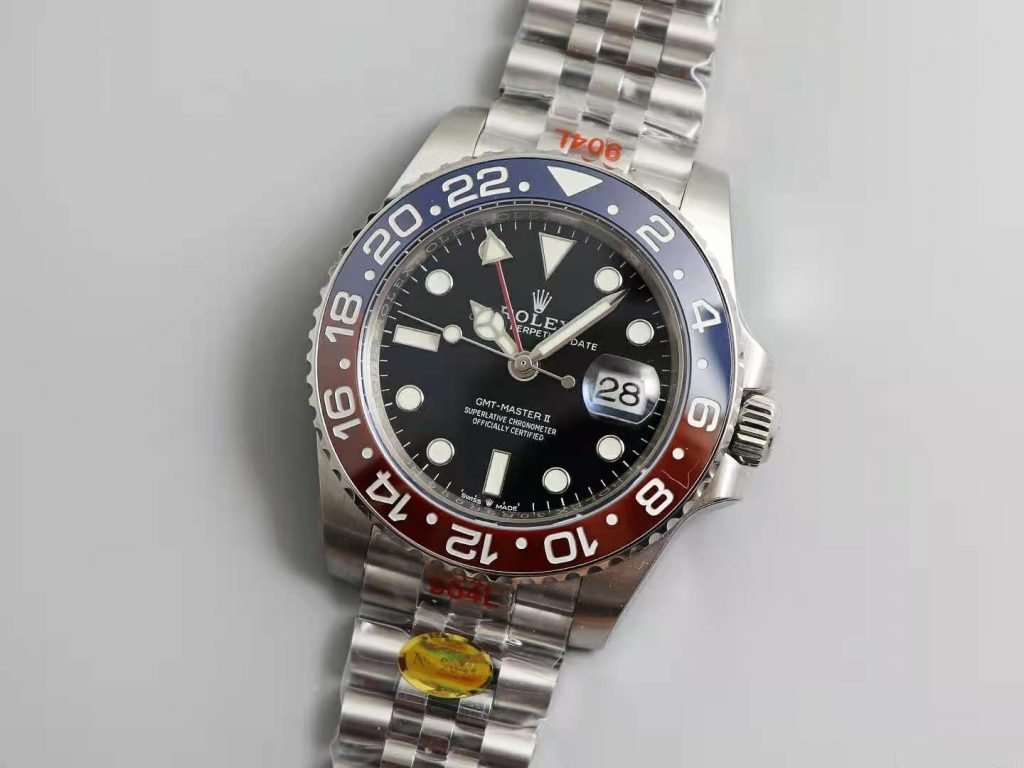 Replica Rolex GMT-Master II Blue Red Ceramic