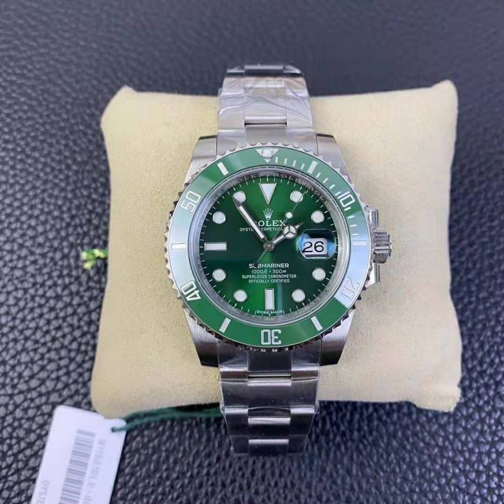 VSF Replica Rolex Submariner Green 116610LV