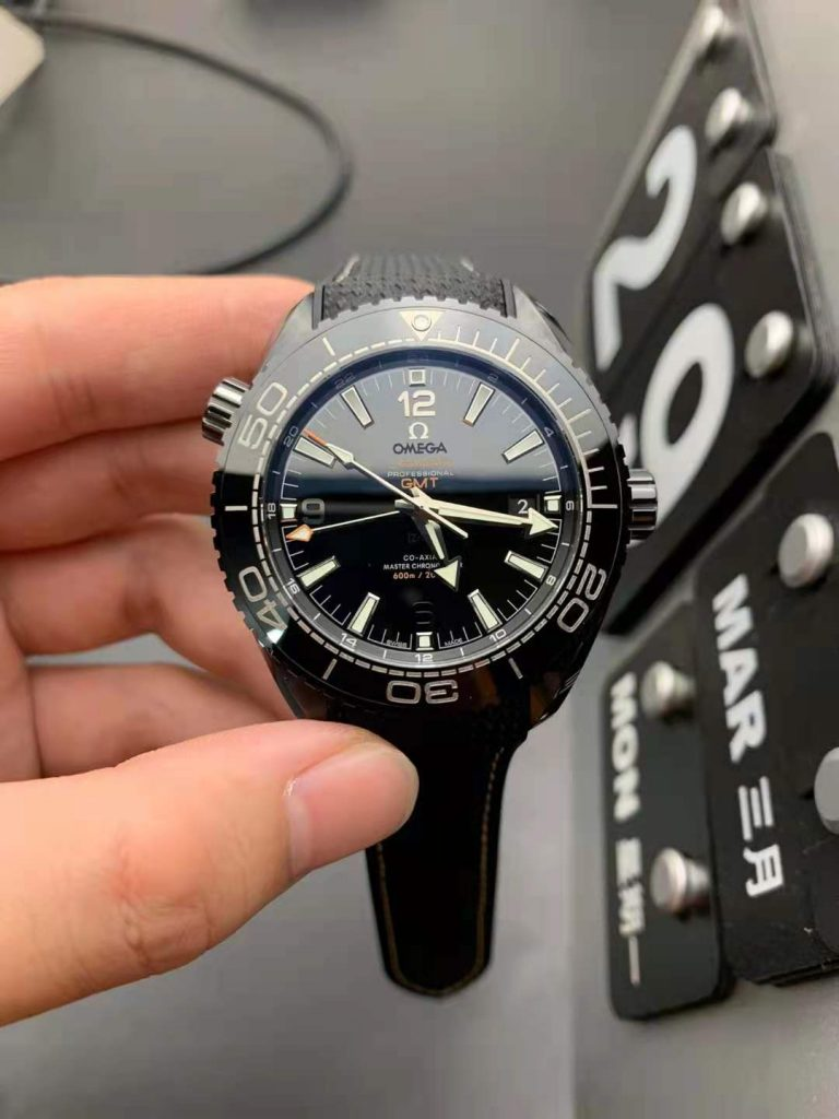 Replica Omega Planet Ocean Deep Black Watch