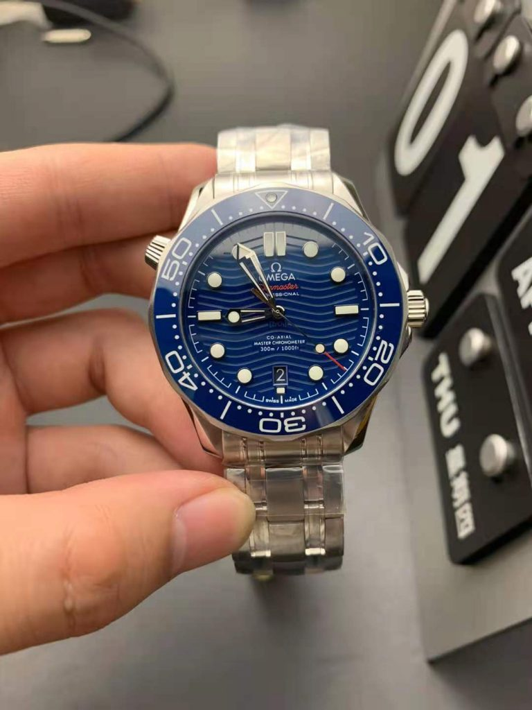 Replica Omega Seamaster Diver 300m Blue Watch