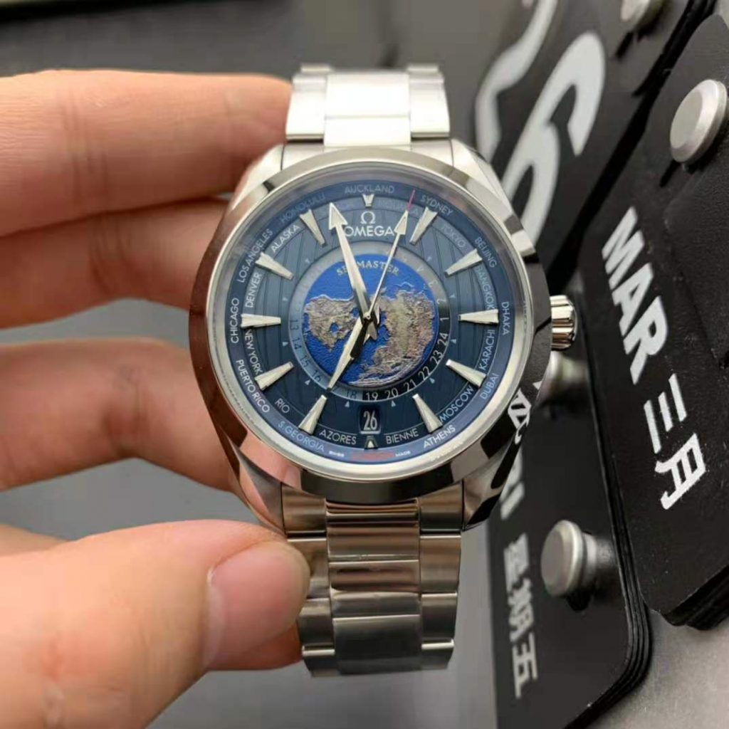 Replica Omega Seamaster Worldtimer Watch
