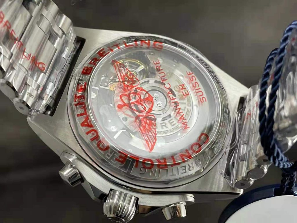 Breitling Chronomat Crystal Back