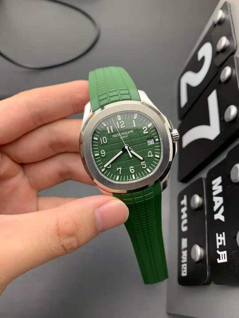 Patek Aquanaut Green Replica