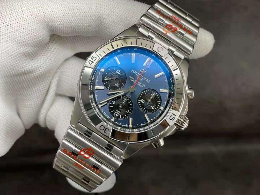 Replica Breitling Chronomat B01 Blue