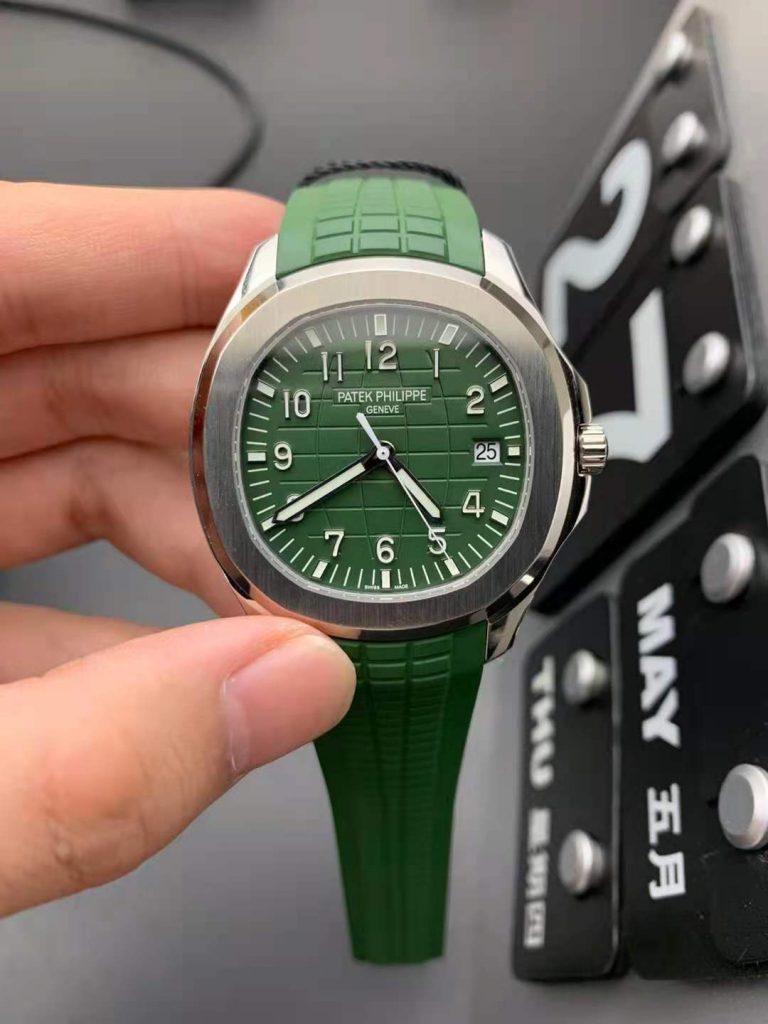 Replica Patek Philippe Aquanaut Green