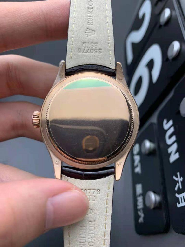 Rolex Cellini 50535 Case Back