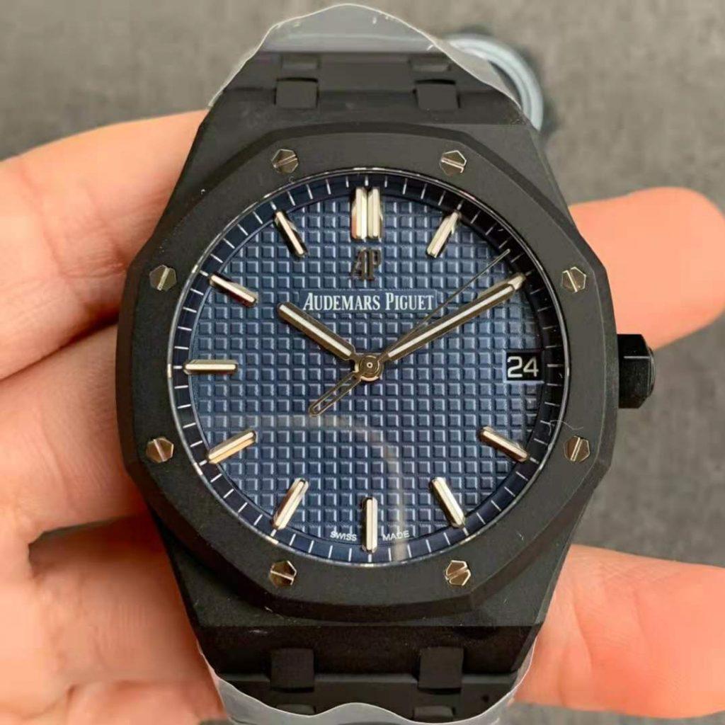 Audemars Piguet 15500 DLC Blue