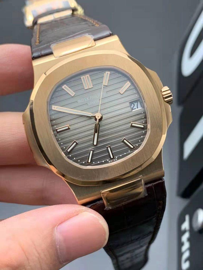Replica Patek Philippe Nautilus 5711 Rose Gold Watch