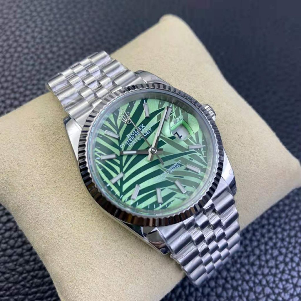 Replica Rolex Datejust Green Leaf