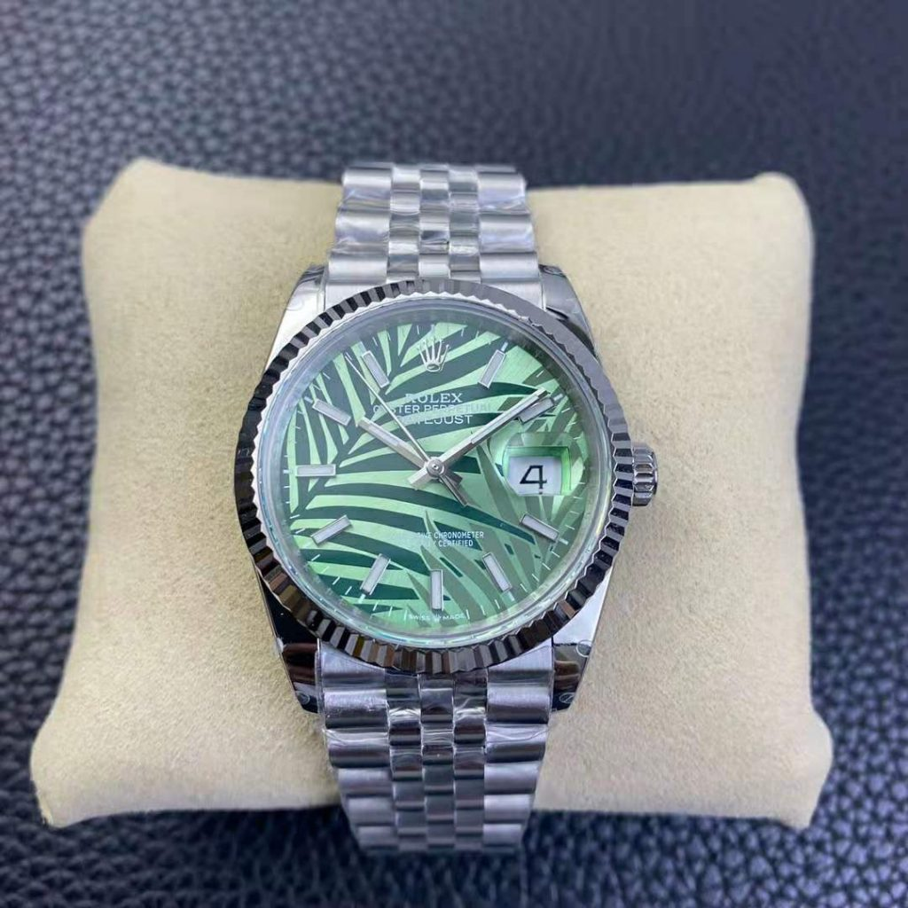 Replica Rolex Datejust Palm Leaf