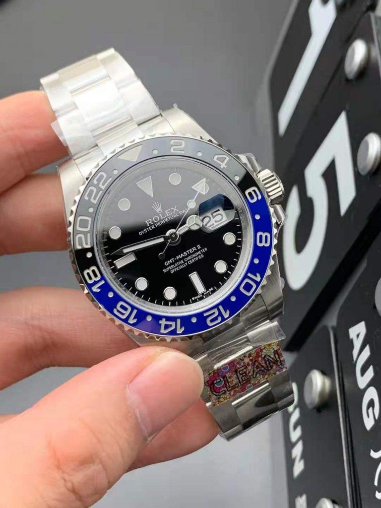 Replica Rolex GMT-Master II 116710BLNR