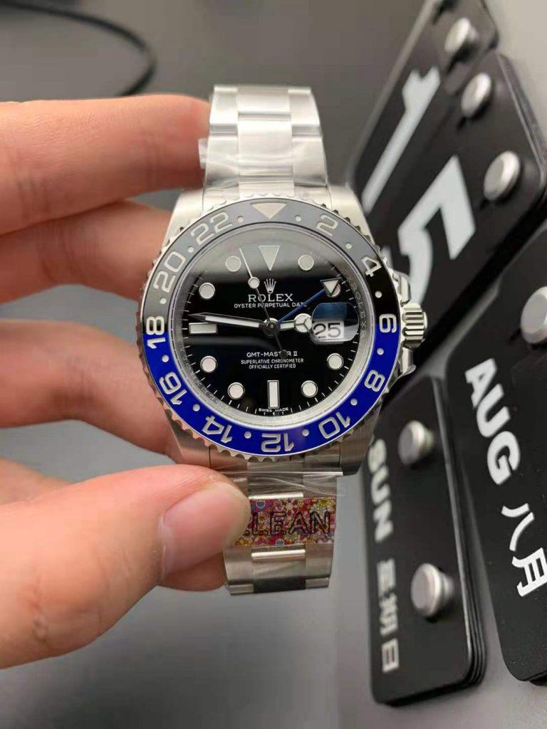 Replica Rolex GMT-Master II Batman Blue Black