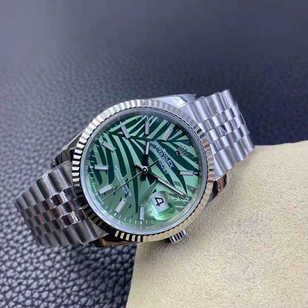 Rolex Datejust Green Leaf Dial