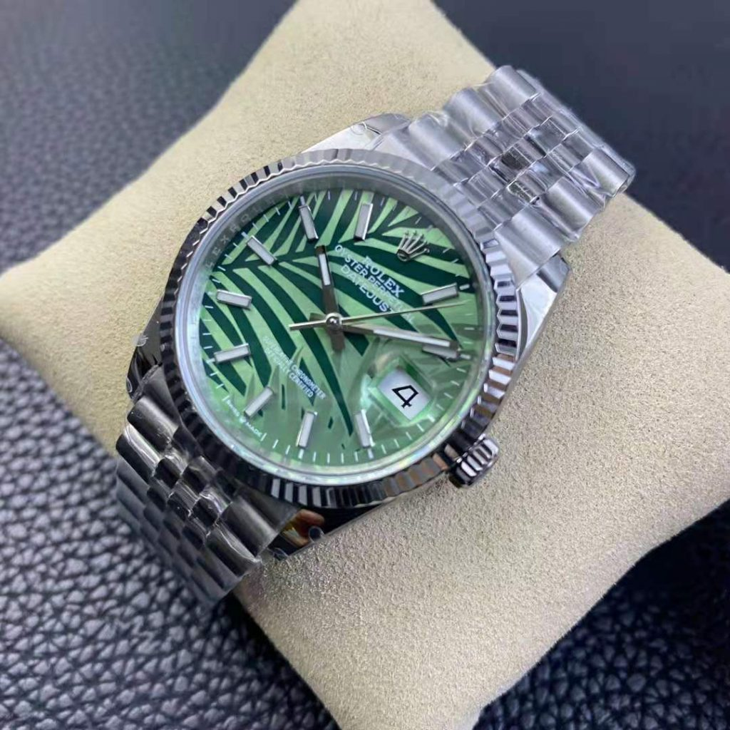Rolex Datejust Palm Leaf