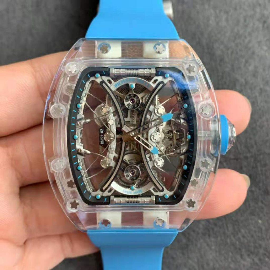 Replica Richard Mille RM 053-02 Blue
