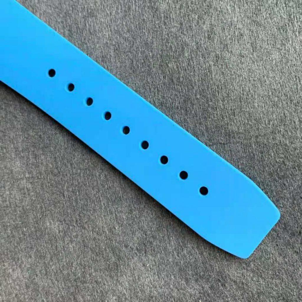 Richard Mille RM 053-02 Blue Rubber Strap