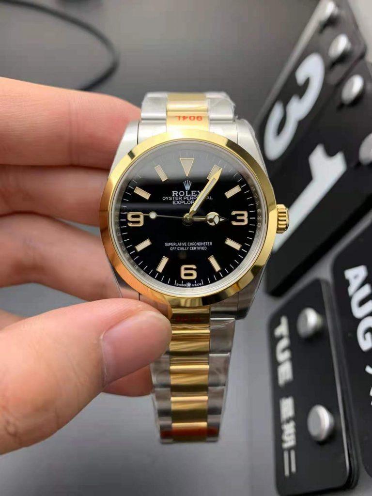 Rolex Explorer I 124273 Replica