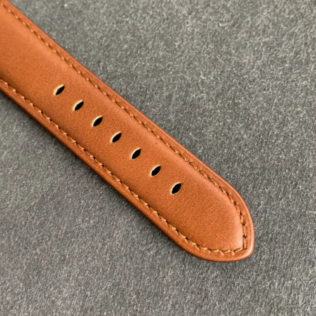 PAM 111 Brown Leather Strap