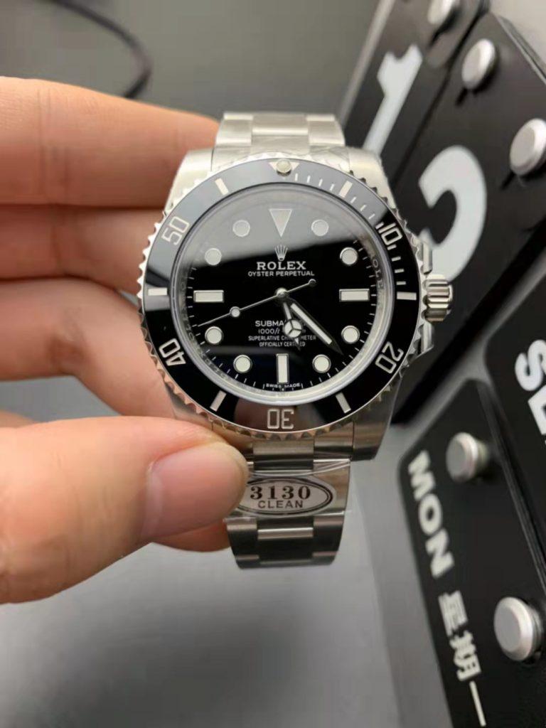 Replica Rolex Submariner No Date 114060LN