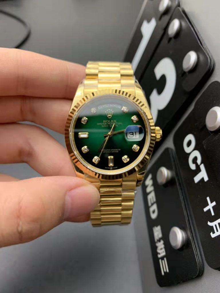 Replica Rolex Day-Date 36mm Yellow Gold